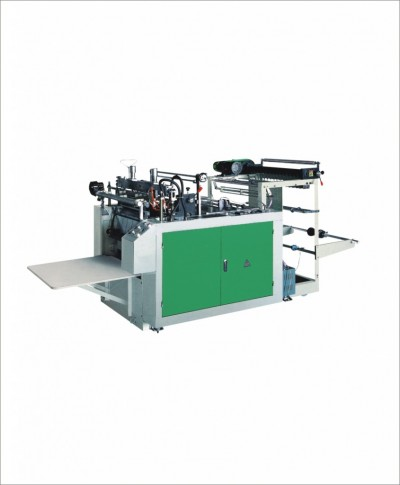 MD-DFR Computer controlled heat sealing & heat cutting bag making machine (single line)
